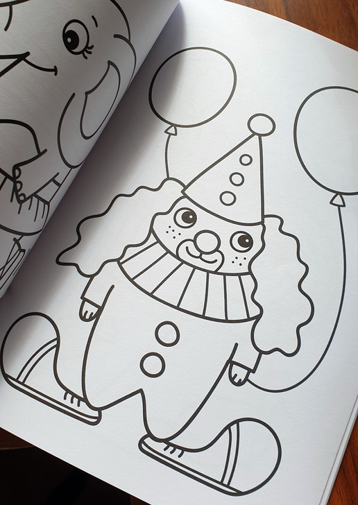 Mikä sirkus? Coloring book