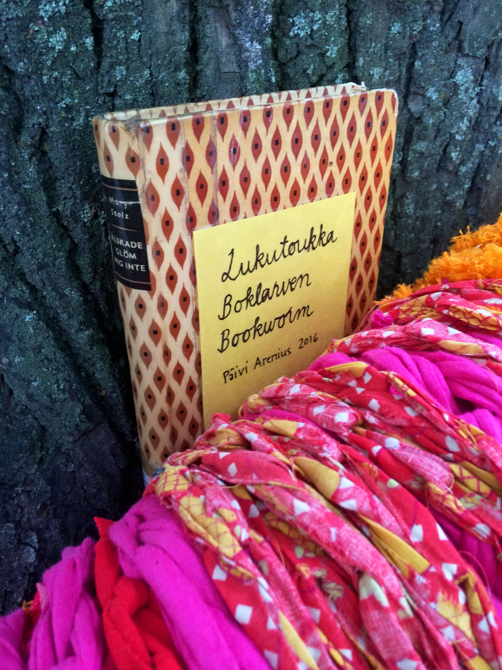 Lukutoukka – Bookworm, Night of Arts happening Vaasa, Vaasa City Library, 2016