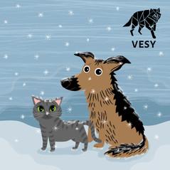Illustrations for Vaasanseudun eläinsuojeluyhdistys ry, 2018