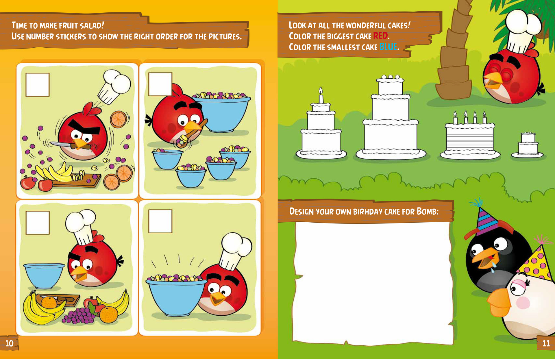 Angry birds books (Illustration and layout), Rovio Entertainment Ltd, 2012–2013