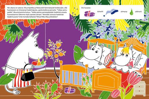 Moomin books (Illustration and layout), Tammi Publishers, 2013–2016