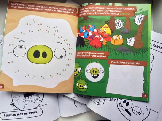 Angry Bird books, Rovio Entertainment Ltd, 2012–2013