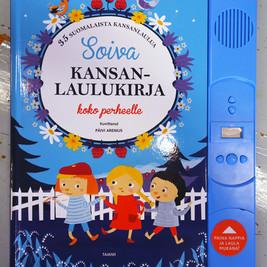 Soiva kansanlaulukirja koko perheelle, Tammi Publishers, 2017
