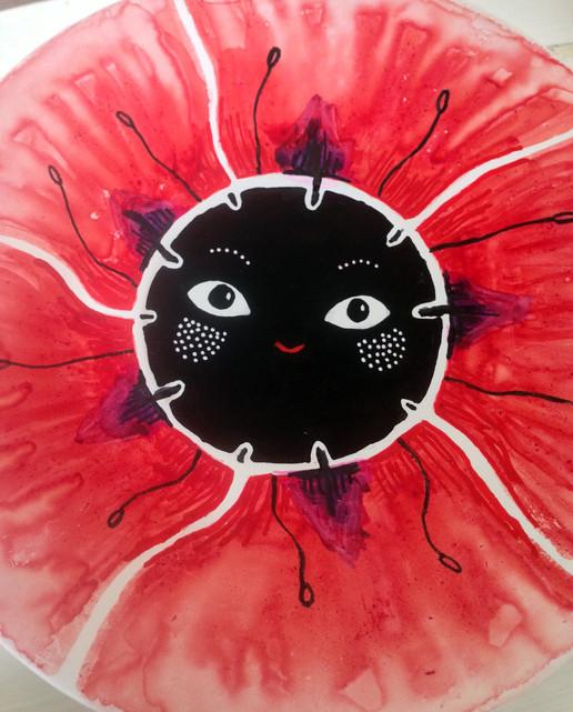 Poppy, (Unikko, Papaver), 2016