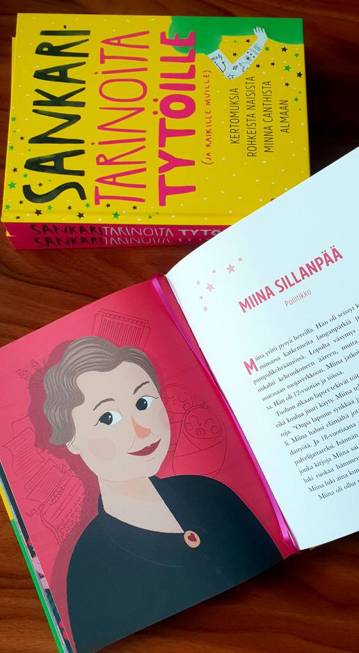 A portrait of Miina Sillanpää