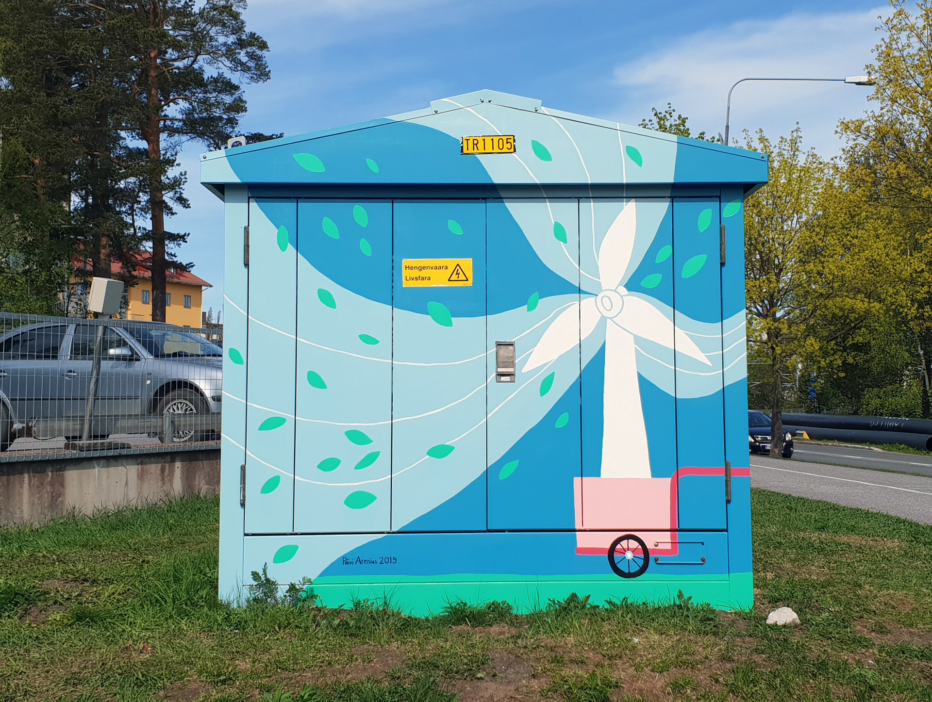 Painting for transformer in Vaasa