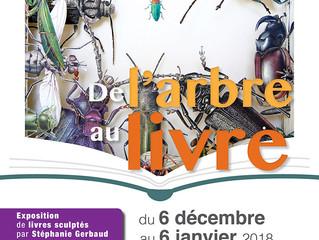 """Exposition """"De l'Arbre au Livre"""" à Saint-Tropez"""