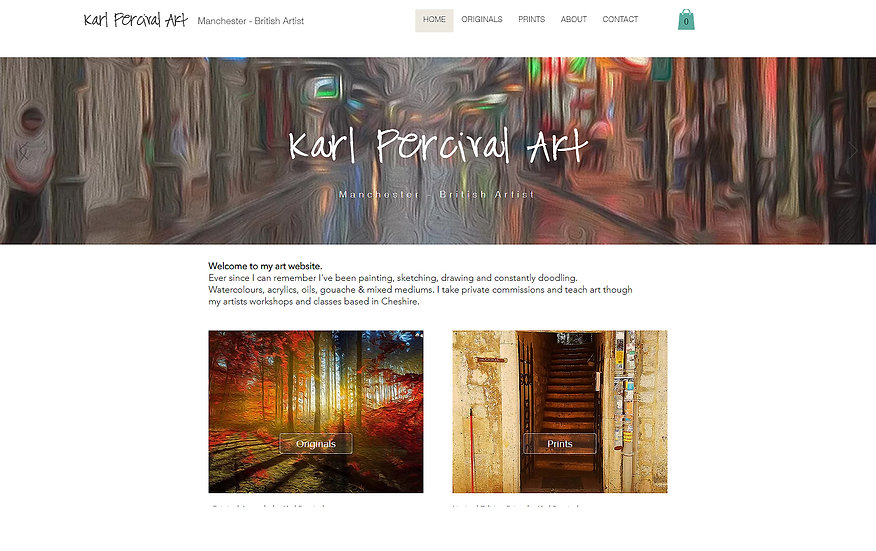 Artist's Web Builder
