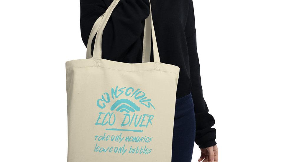 Eco-Conscious Diver x Eco Tote Bag