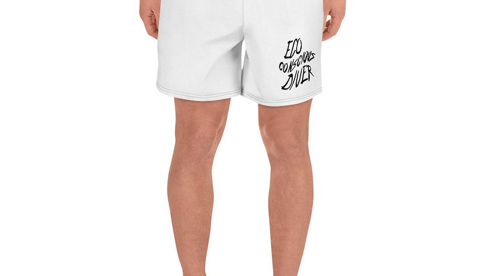 Eco-Conscious Diver x Men's Athletic Long Shorts