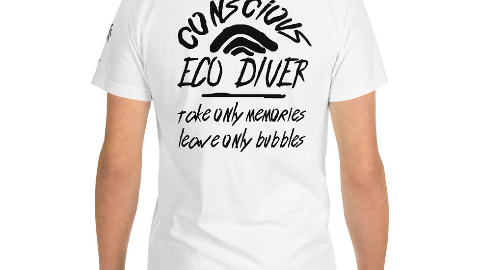 Eco-Conscious Diver x Sustainable T-Shirt