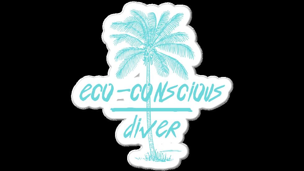 Eco-Conscious Diver x Stickers