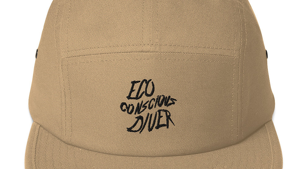 Eco-Conscious Diver x Five Panel Cap