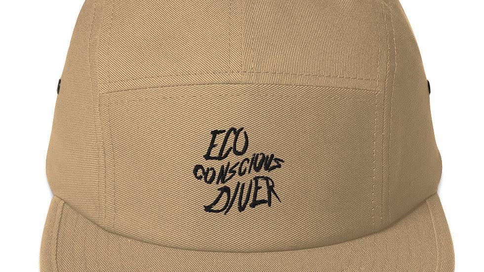 Eco-Conscious Diver x Five Panel Cap
