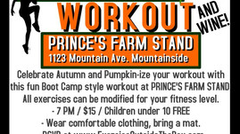 The Great Pumpkin Workout (with Raffle Basket, Wine & Light Fare) on Thursday, October 26th at 7