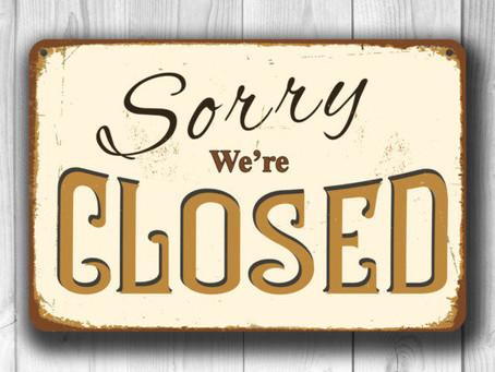 Office/State Shutdown Update