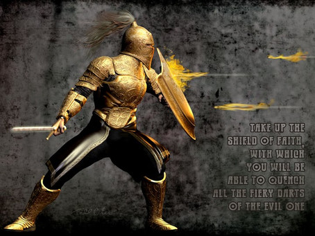 What is the shield of faith?
