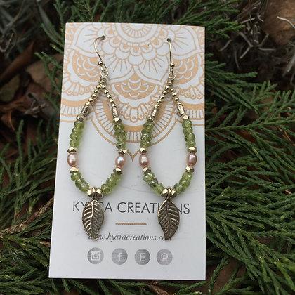 Garden Teardrop Earrings