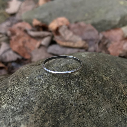 Thin Sterling Silver Stacker Ring