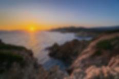 sunset in Malfatano