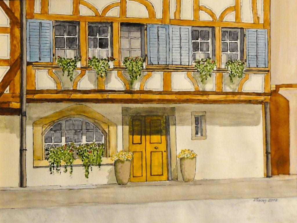 Fassade in Bremgarten