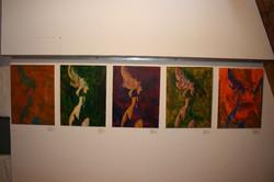Ruschy, Bilder-Serie, Acryl