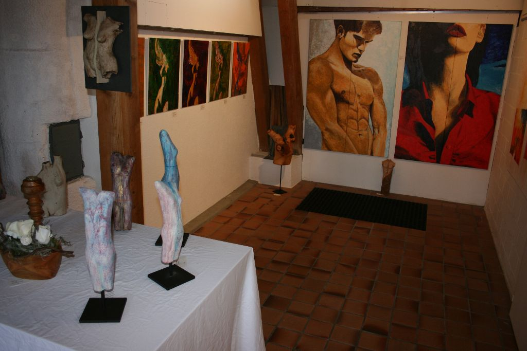 Ruschy Hausmann, Bilder u. Keramik