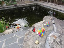 Furi, um den Teich