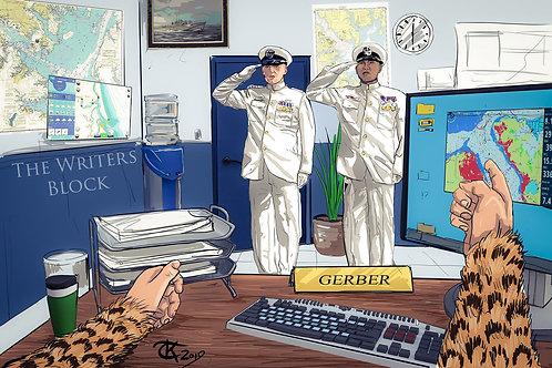 """""""Instructor General Gerber, Part 1"""" Print - Letter Size"""