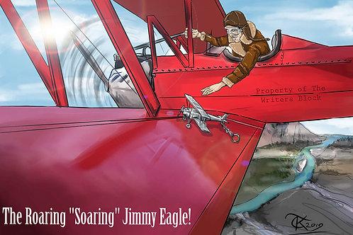 """Jimmy Eagle"" Print - Letter Size"