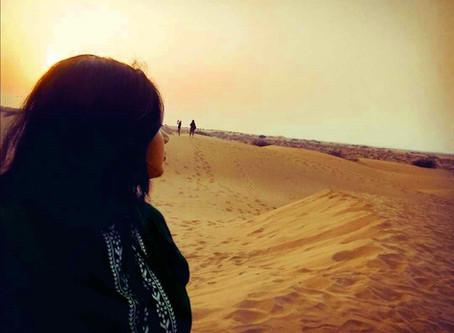 Incredible Desert Experience: Camping and Safari in Sam Sand Dunes, #Jaisalmer