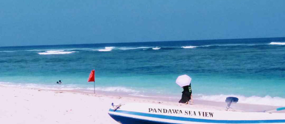 A beach named after Pandavas from Mahabharata. Trust me; it's there. #Pandawa Beach #Bali