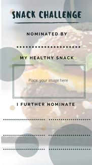 Instagram Story: Snack Challenge