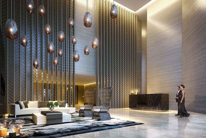 amenity - residential lobby