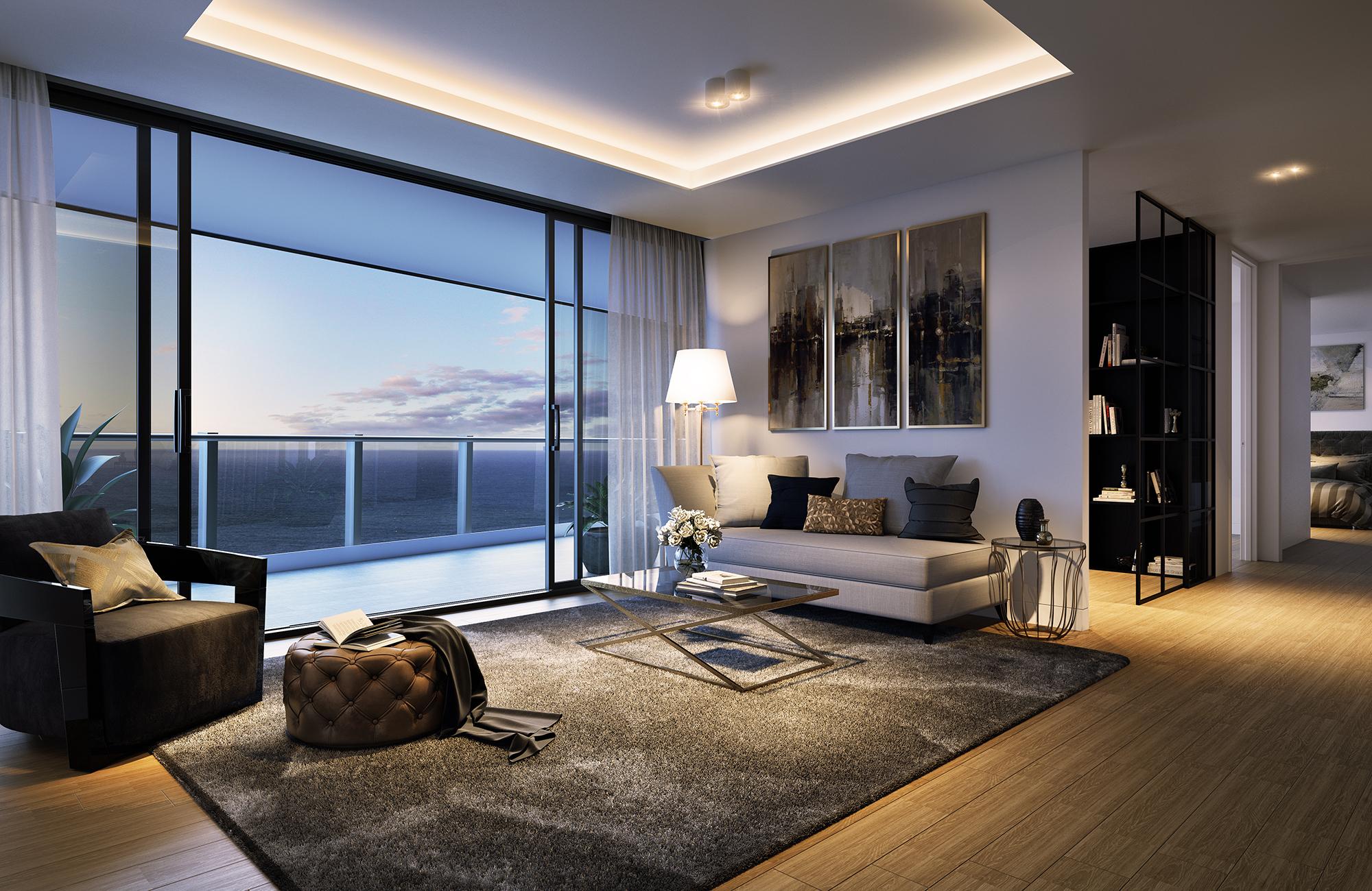 interior - living belvedere