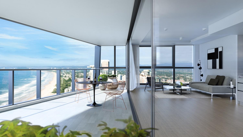 interior - living balcony