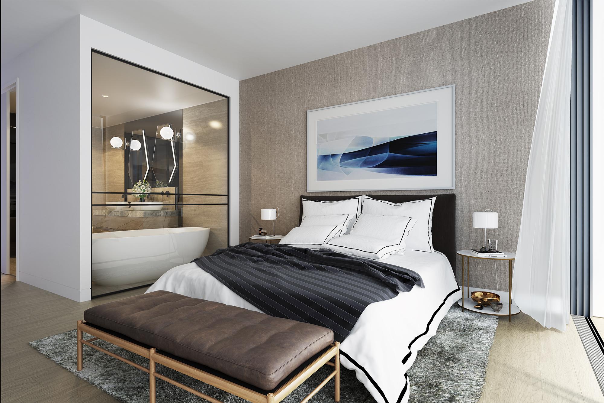 interior - bedroom b