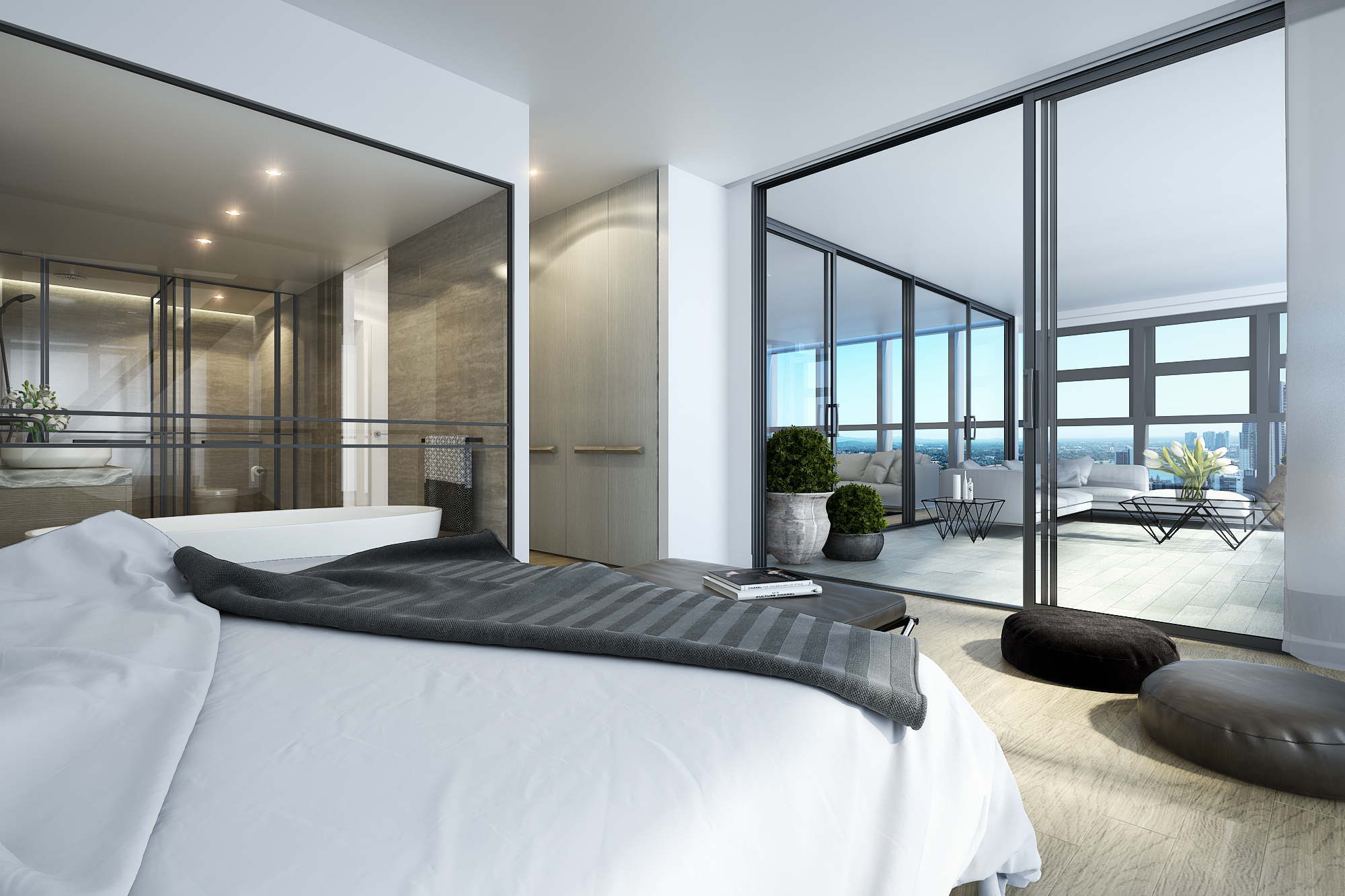 interior - bed a