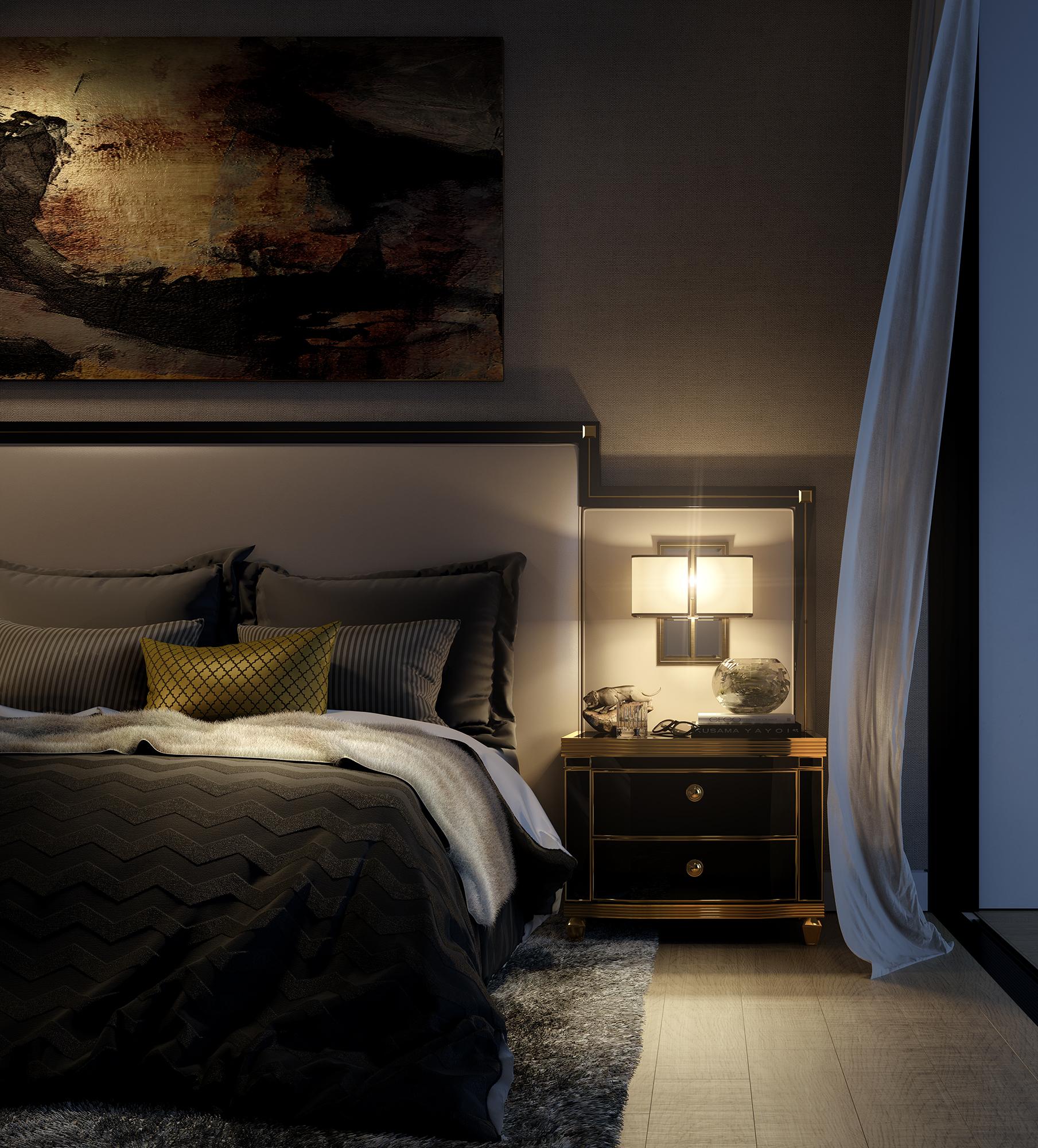 interior - bedside