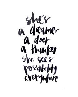DREAMER.