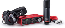 Focusrite Scarlett 2i2 Studio (3rd Gen) USB Audio Interface and Recording Bundle