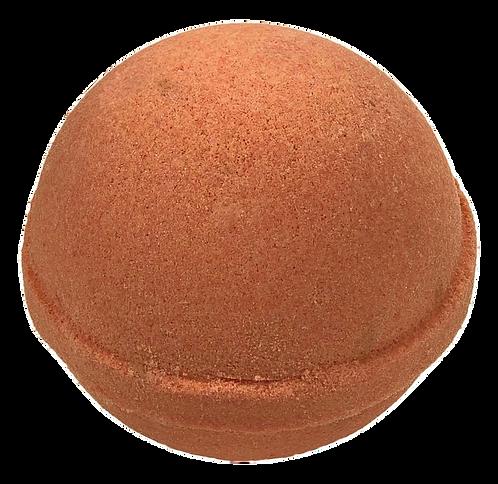 Orange Aloe Bath Bomb.