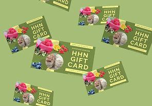 HHN Gift Card.