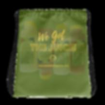 'We Got The Juice' HHN Drawstring Bag.