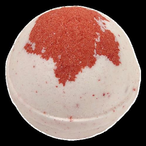 Cherry Almond Bath Bomb.