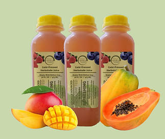 Mango & Papaya Herbalade.