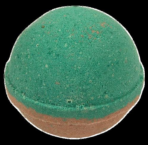 Chocolate Mint Bath Bomb.