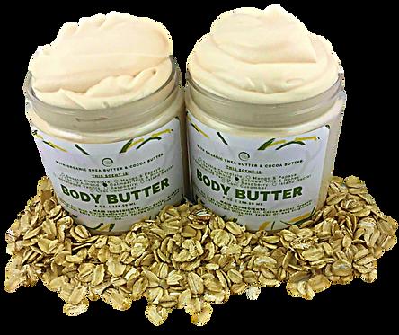 Oatmeal Milk & Honey Body Butter.