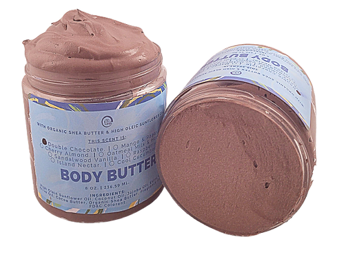 Double Chocolate Body Butter.