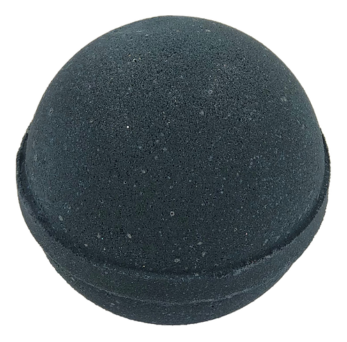 Black Velvet Bath Bomb. (Contains Activated Charcoal)